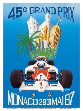 45th Monaco Grand Prix (Circuit de Monaco) - Formula One Race Cars by A. Borgheresi