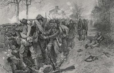 The Battle of Fredericksburg: Cobb's and Kershaw's Men Behind the Stone Wall
