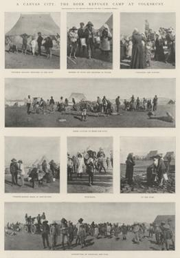A Canvas City, the Boer Refugee Camp at Volksrust