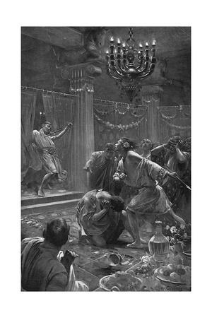 Alexander the Great Kills Clitus, 328BC