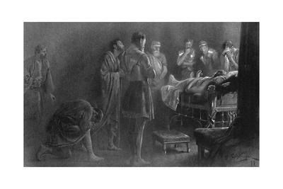 Alexander the Great on His Death Bed