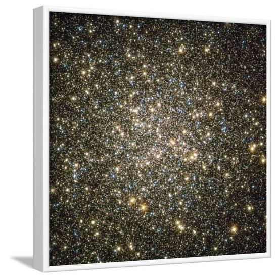 A Celestial Snow Globe of Stars--Framed Photographic Print