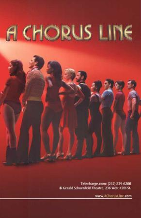 A Chorus Line - Broadway Poster