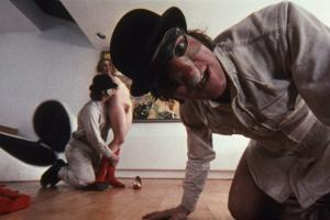 A CLOCKWORK ORANGE, 1971 directed by STANLEY KUBRICK with Malcolm McDowell (photo)