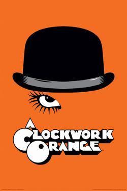 A Clockwork Orange- Bowler & Eyelash