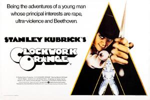A Clockwork Orange, British Poster Art, Malcolm Mcdowell, 1971