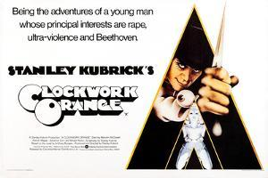 A Clockwork Orange, British Poster Art, Malcolm Mcdowell, 1971
