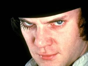 A Clockwork Orange, Malcolm McDowell, 1971