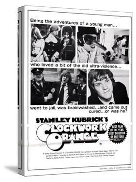 A Clockwork Orange, Malcolm Mcdowell, 1971