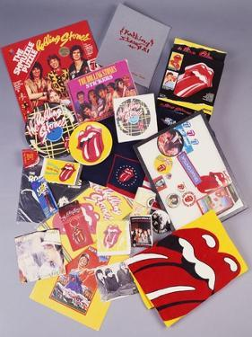 A Collection of Over Thirty Rolling Stones Souvenirs