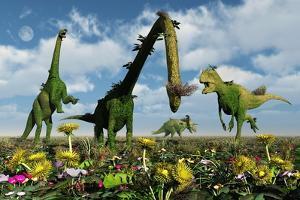 A Conceptual Dinosaur Garden