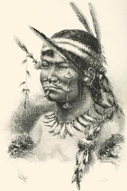 A Coreguaje, Korébahü or Koré Pâín Indian from Caquetá, Colombia