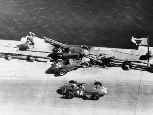 A Crash at the Monaco Grand Prix, 1957