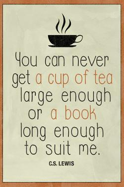 A Cup of Tea and A Book CS Lewis