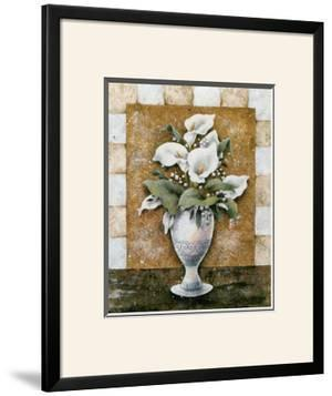 Vase of Callas by A. Da Costa