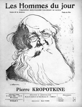 Pyotr Kropotkin by A. Delannoy