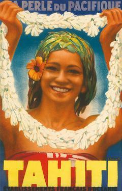 Tahiti, La Perle du Pacifique, c.1930s by A. Doquene