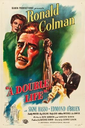 A Double Life, Signe Hasso, Ronald Colman, Shelley Winters, 1947