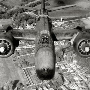 A Douglas A-20 Havoc over France, 1944