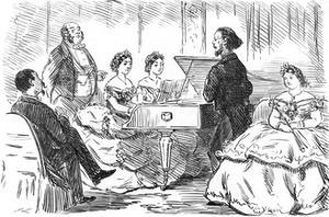 A Duet under Difficulties, 1863