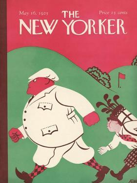 The New Yorker Cover - May 16, 1925 by A.E. Wilson