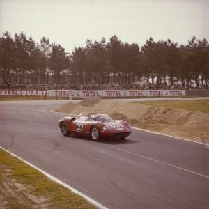 A Ferrari 250 P at Le Mans, France, 1963