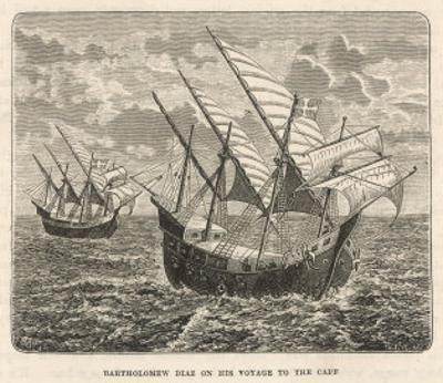 Bartholomew Diaz Portuguese Navigator Sails to the Cape