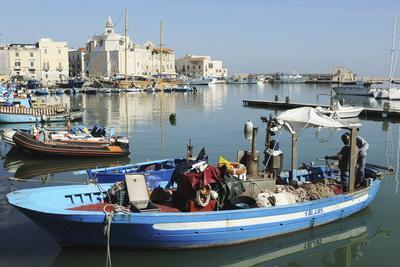 https://imgc.allpostersimages.com/img/posters/a-fishing-boat-in-the-harbour-by-the-cathedral-of-st-nicholas-the-pilgrim-san-nicola-pellegrino_u-L-PWFD860.jpg?p=0