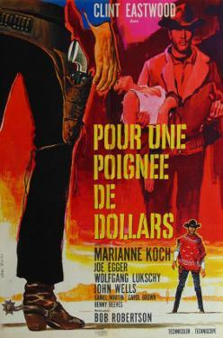 A Fistful of Dollars, French Movie Poster, 1964