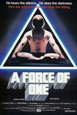 A Force of One, Chuck Norris, 1979