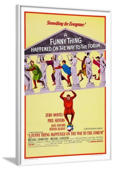 A Funny Thing Happened on the Way to the Forum, 1966--Framed Poster