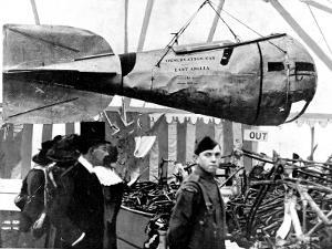 A German Zeppelin's Observation Car