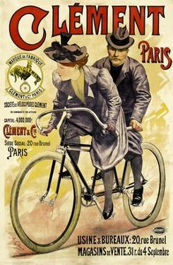 Clement Bicycles by A. Gilbert