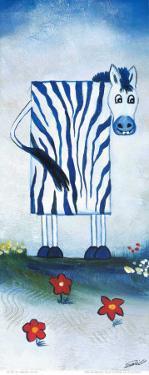 Zebra Cow by A. Gill