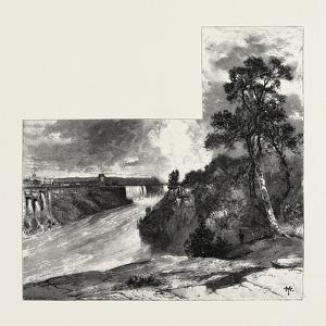 A Glimpse of the Niagara Falls from Clinton, Canada, Nineteenth Century