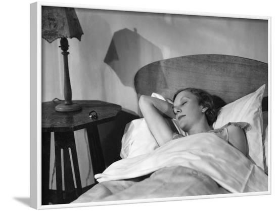 A Good Night's Sleep--Framed Photographic Print