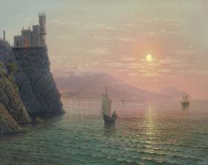 Yalta Sunset by A. Gorjacev