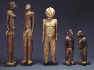 A Group of Lobi Figures
