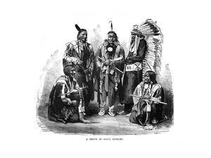 A Group of Sioux Indians, 1872