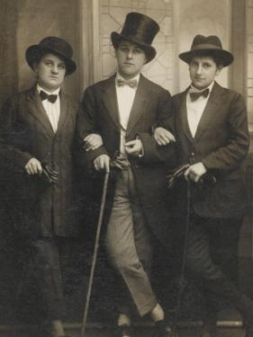 A Group of Three Transvestites