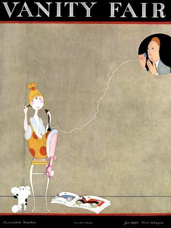 Vanity Fair Cover - January 1921