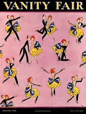 Vanity Fair Cover - September 1924 by A. H. Fish