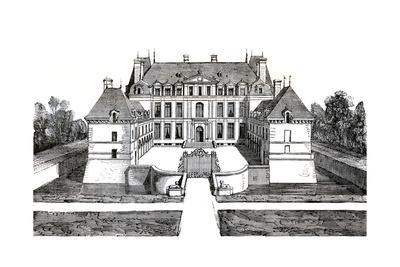 Acqueville, France - Chateau de La Motte