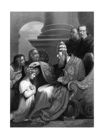 Prince Alfred and Pope Leo IV