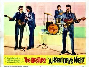 A Hard Days Night, Paul Mccartney, George Harrison, Ringo Starr, John Lennon, 1964