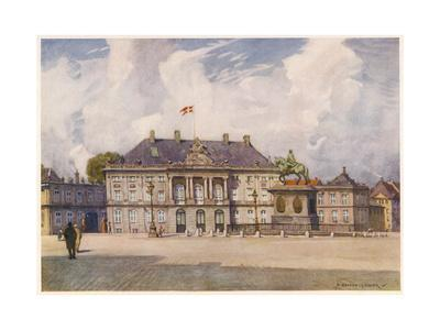 Copenhagen Amalienborg