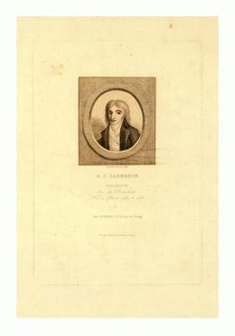 A.J. Garnerin, Aeronaut by Jules Porreau, 1853