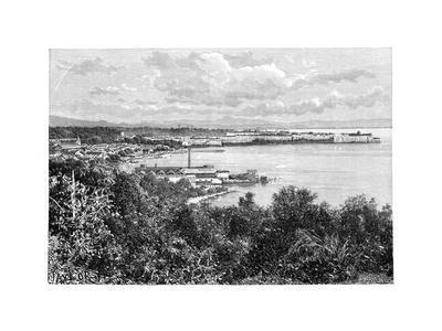 General View of Fort-De-France, Martinique, C1890