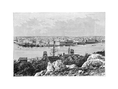 General View of Havana, Taken from Casablanca, C1890