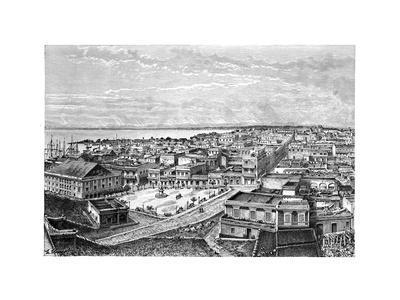 General View of San Juan Bautista, Puerto Rico, C1890